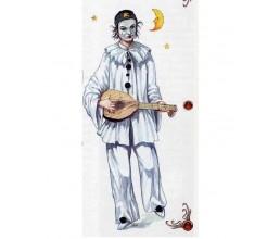 Пьеро - костюм и маска персонажа