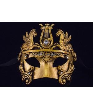 Маскарадная маска Barocco Cavalli Gold