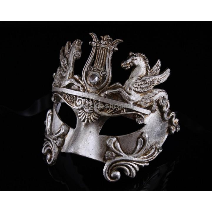 Маскарадная маска Barocco Cavalli Silver