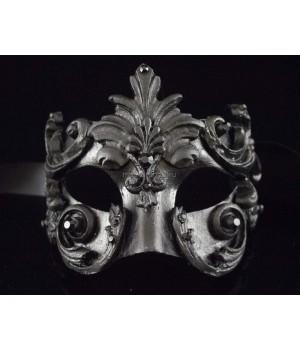 Маскарадная маска Barocco Acqua Black