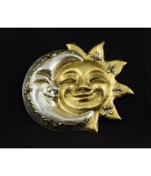 Интерьерная маска Солнце и Луна