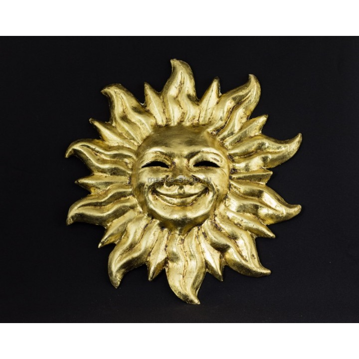 Настенная маска - Солнце с лучами
