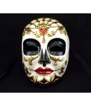 Женская маска Череп