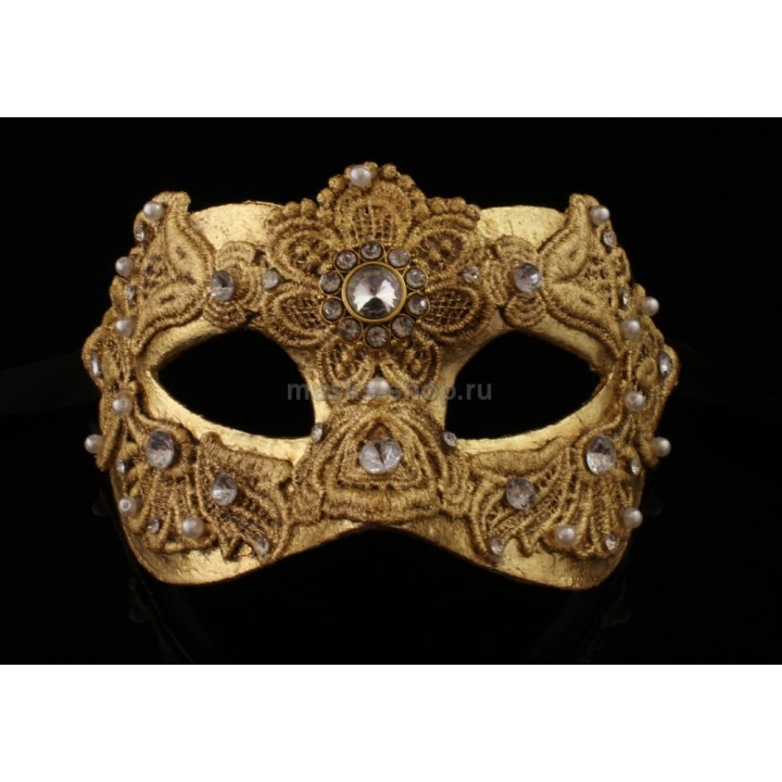 Карнавальная маска Macrame Gold