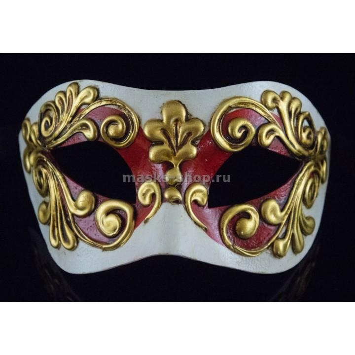 Карнавальная маска Occhi Red