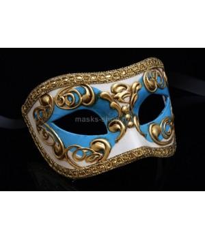Карнавальная маска Occhi SkyBlue