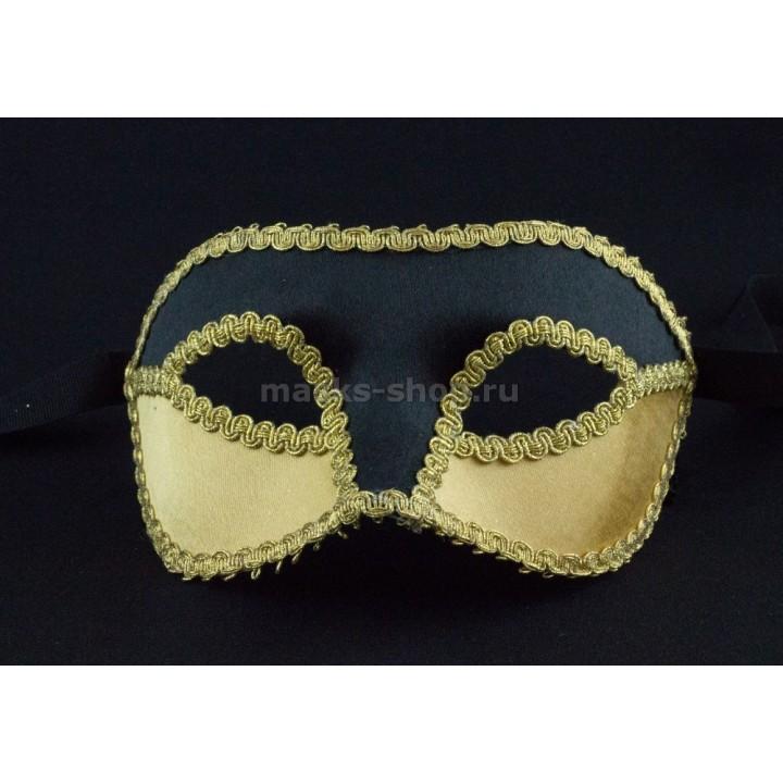 Черная бархатная маска Velluto Black