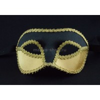 Бархатная карнавальная маска Velluto