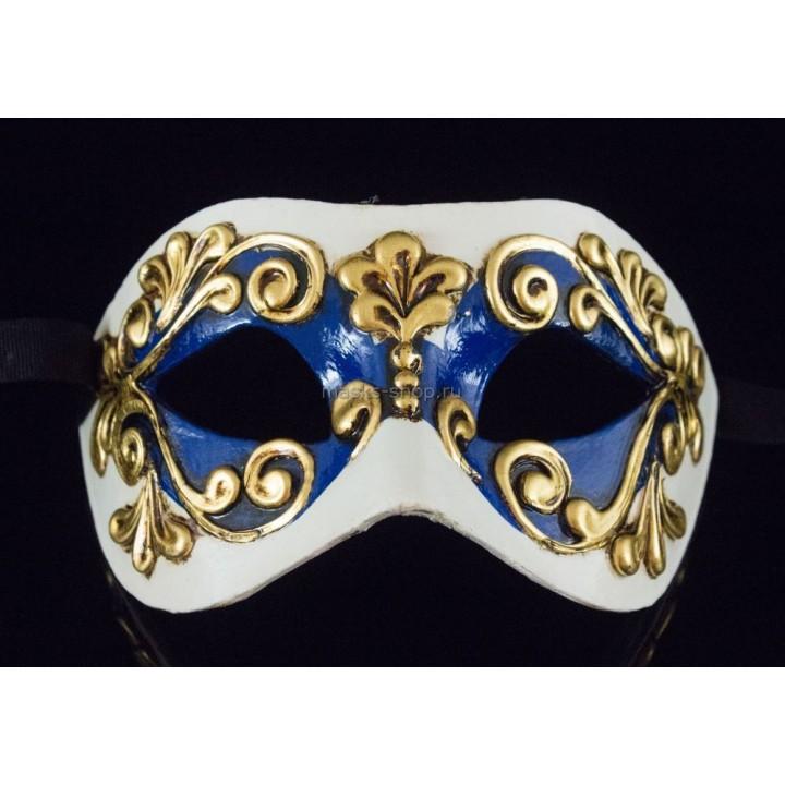 Карнавальная маска Occhi Blue