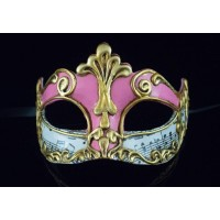 Карнавальная маска Musica Sinfonia Pink