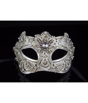 Карнавальная маска Macrame Silver