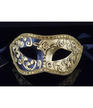 Карнавальная маска Mezza Black