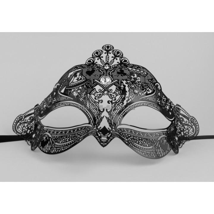 Ажурная маска для лица Poker