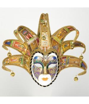 Венецианская маска Jolly Arcobaleno