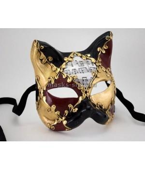 Венецианская маска Кот