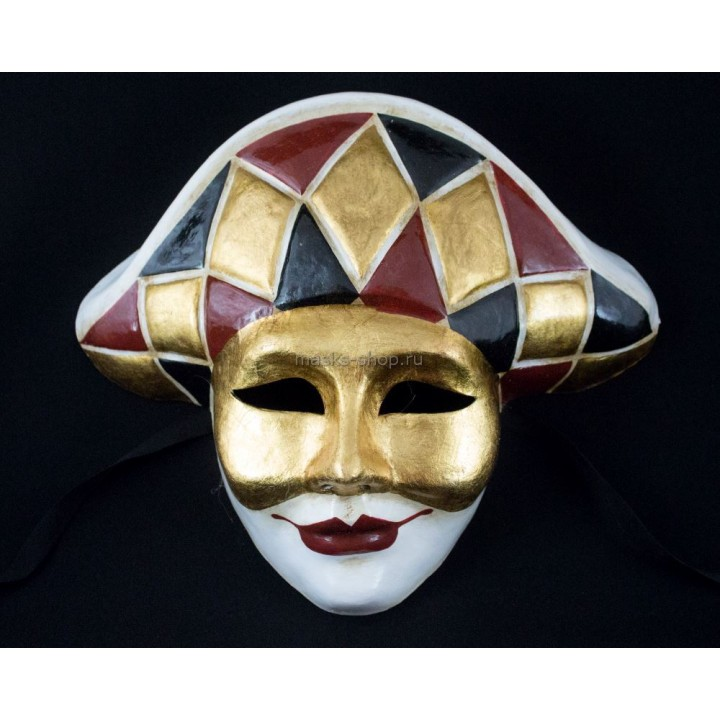 Венецианская маска Арлекино