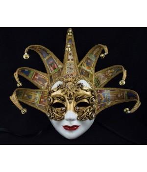 Венецианская маска Volto Dama Tarot