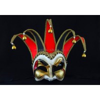 Венецианская маска Joker Velluto