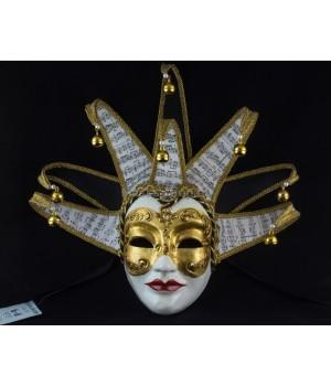 Венецианская маска Volto Dama Musica