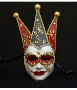 Венецианская маска Volto Red